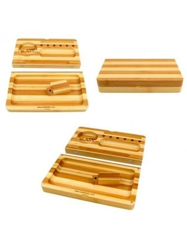 Raw Bamboo Tray