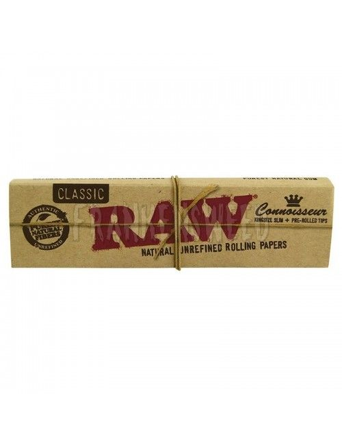 RAW Connoisseur KS Slim PREROLLED TIPS