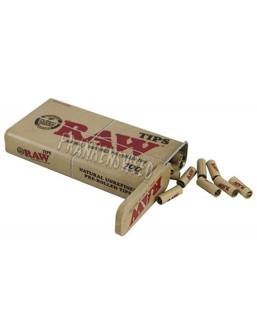 RAW Tips Prerolled TIN