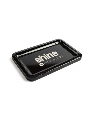 Shine Black Rolling Tray