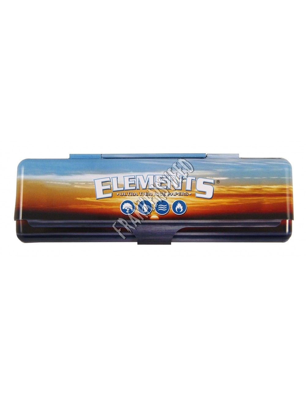 Elements King Size Slim Metal Case