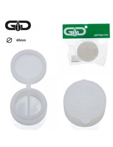 GG Dabs Silicone Small Jar White