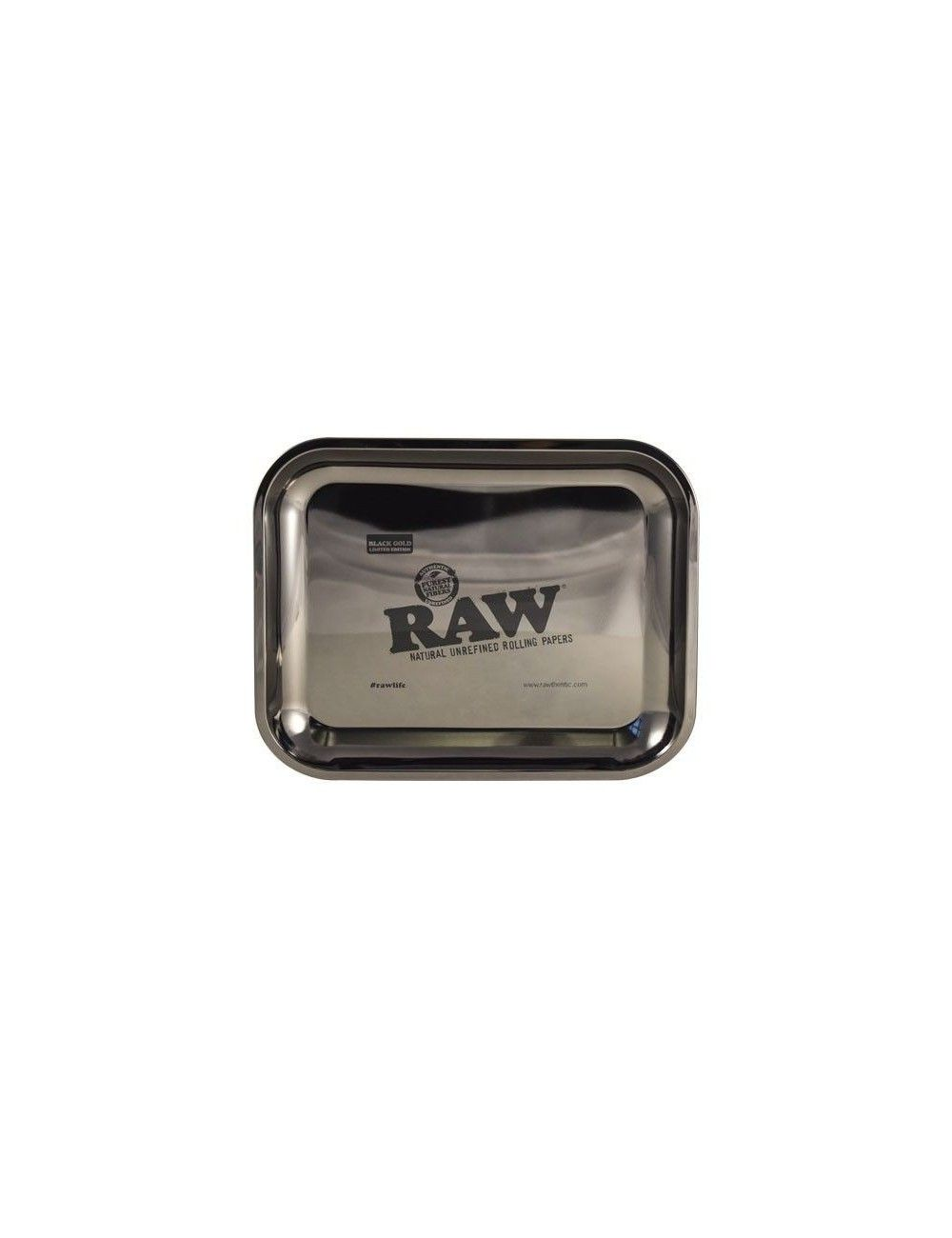 Bandeja RAW TRAY BLACK GOLD - LIMITED EDITION