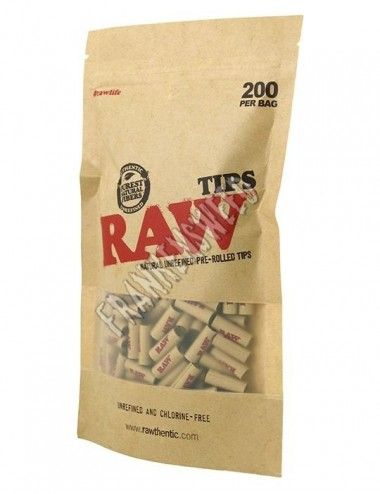 RAW Tips Prerolled 200