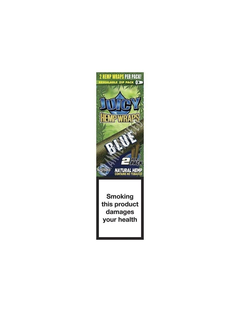 Juicy Hemp Wraps Blue - Black´n´Blueberry