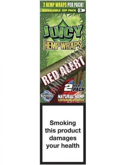 Juicy Hemp Wraps Red Alert - Strawberry