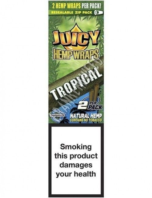 Juicy Hemp Wraps Tropical - Tropical Passion