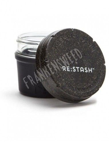 Re:Stash Jar Black 4oz