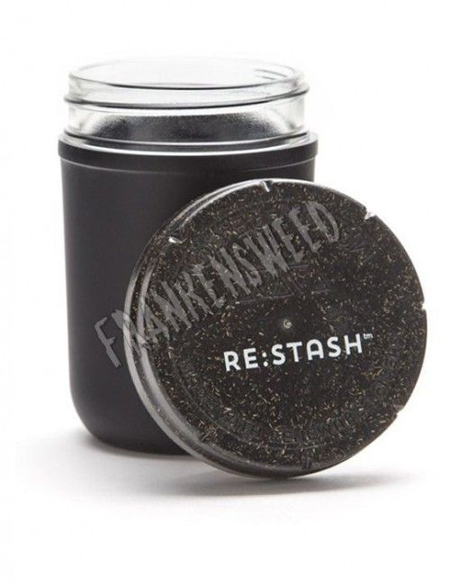 Re:Stash Jar Black 8oz