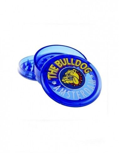 The Bulldog Blue Plastic Grinder