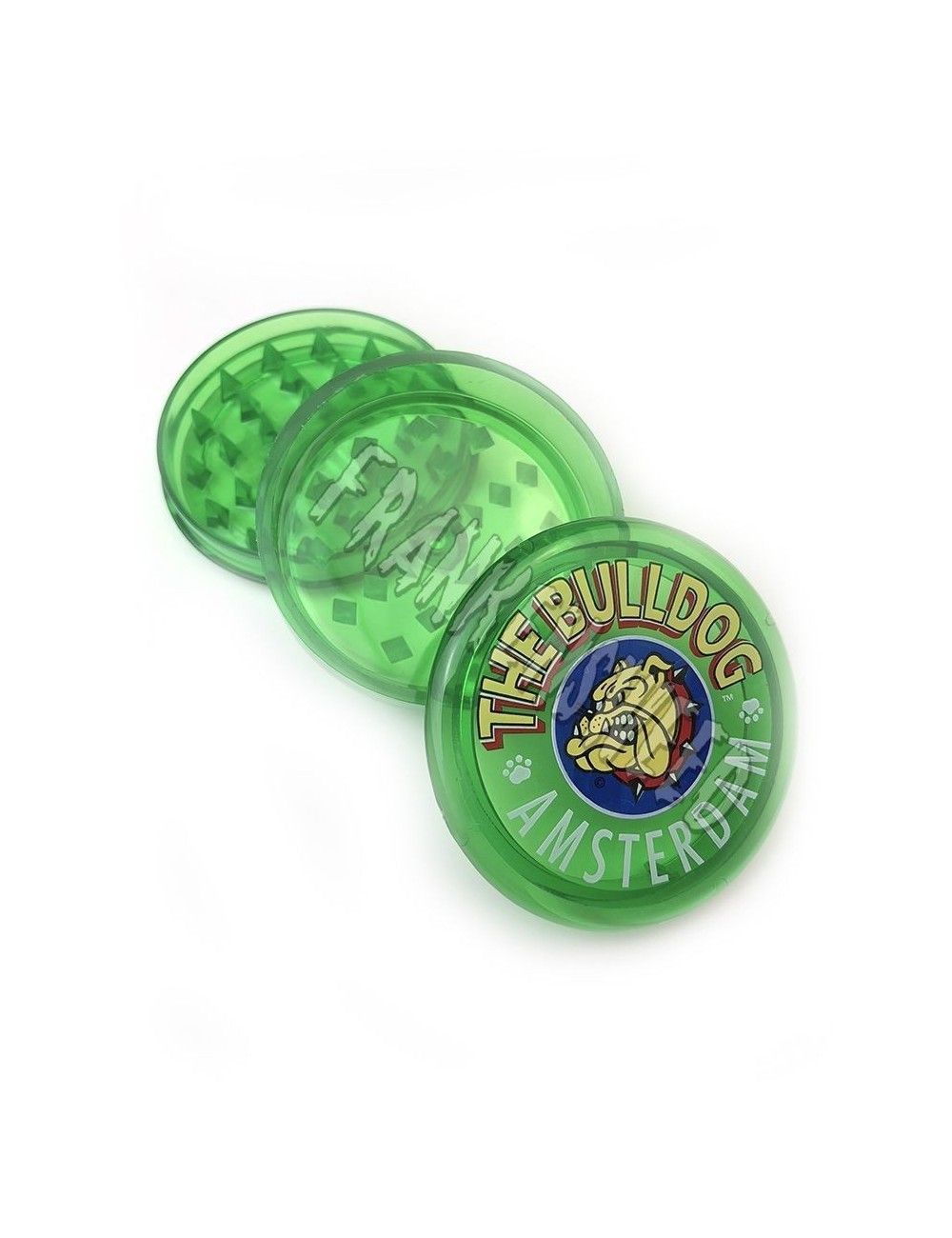 The Bulldog Green Plastic Grinder
