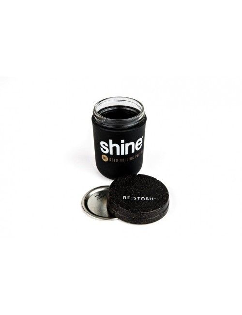 Shine x Re:Stash Jar Black 8oz