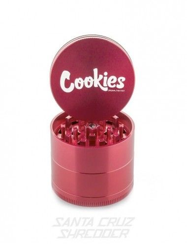 Santa Cruz Shredder 4-piece Medium - Cookies Red