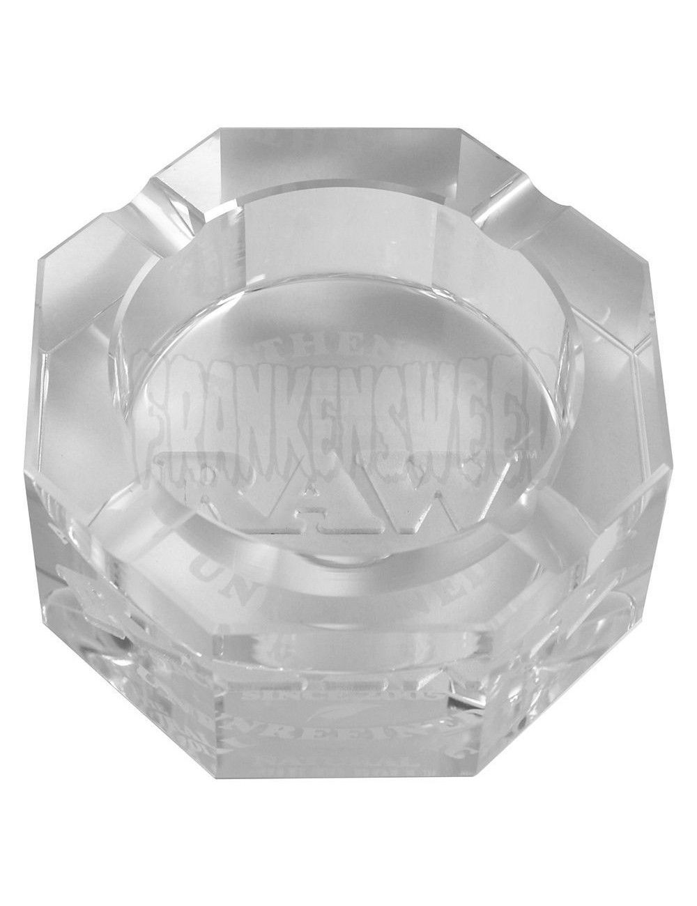 RAW Logo Glass Ashtray