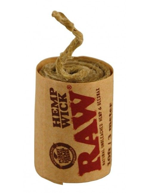 Raw Hemp Wick 3 metros