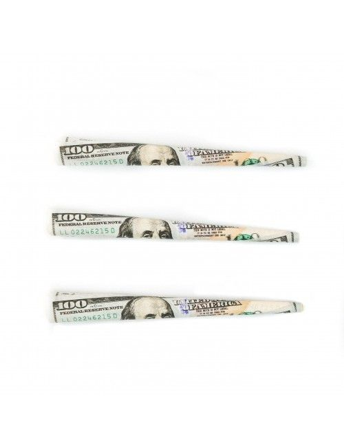 Empire $100 Bill Cones Prerolled