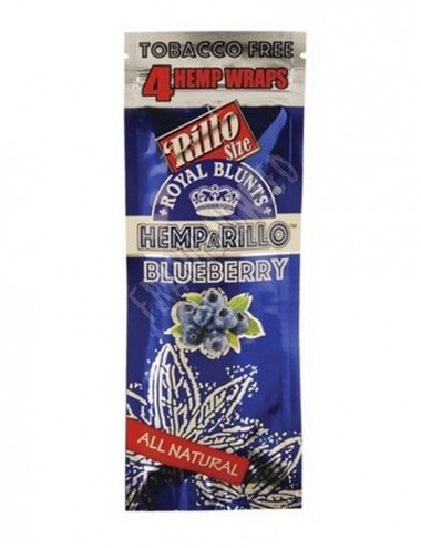 Hemparillo Wraps Rolls Blueberry
