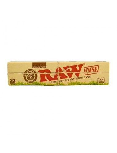 RAW Organic Cones 1 1/4 Size Minibox