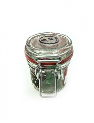 HighPussy Jar 4oz Black Leather