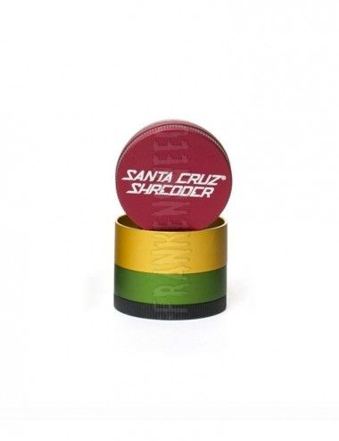 Santa Cruz Shredder 4-piece Small - Rasta Matte