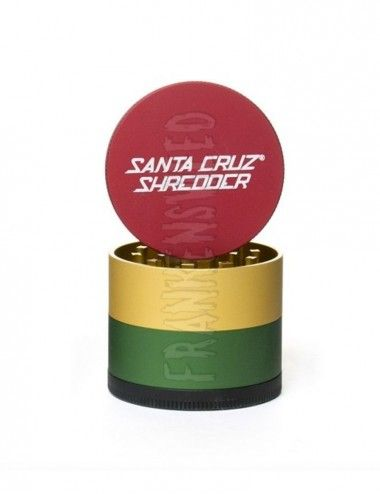 Santa Cruz Shredder 4-piece Medium - Rasta Matte