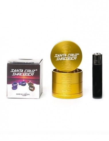 Santa Cruz Shredder 4-piece Medium - Gold Gloss