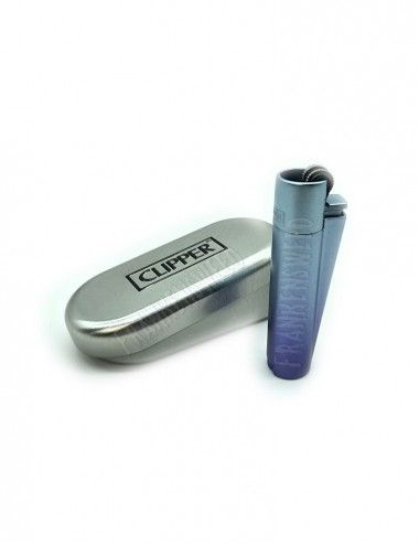 Clipper Metal Lighter Blue Gradient