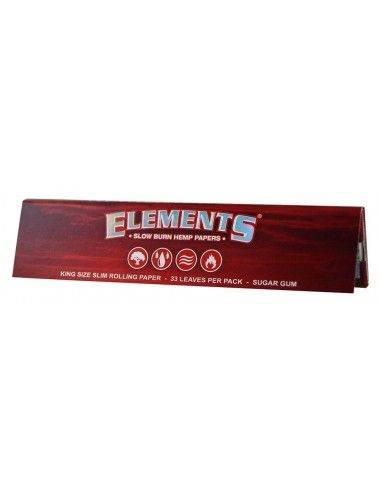 Elements Red King Size Slim Box