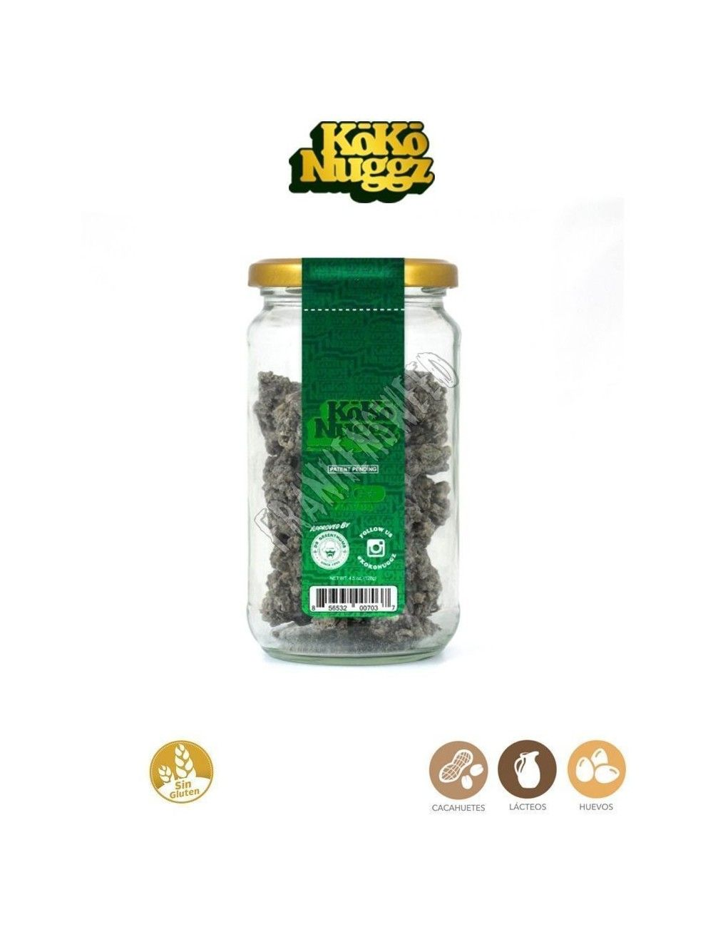 Koko Nuggz - Chocolate Bud - 4.5oz (Glass Jar)