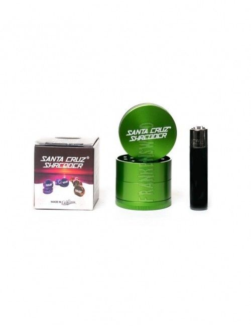 Santa Cruz Shredder 4-piece Medium - Green Gloss