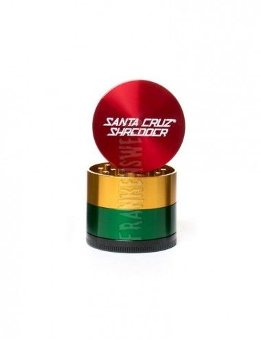 Santa Cruz Shredder 4-piece Medium - Rasta Gloss