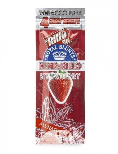Hemparillo Hemp Wraps Strawberry
