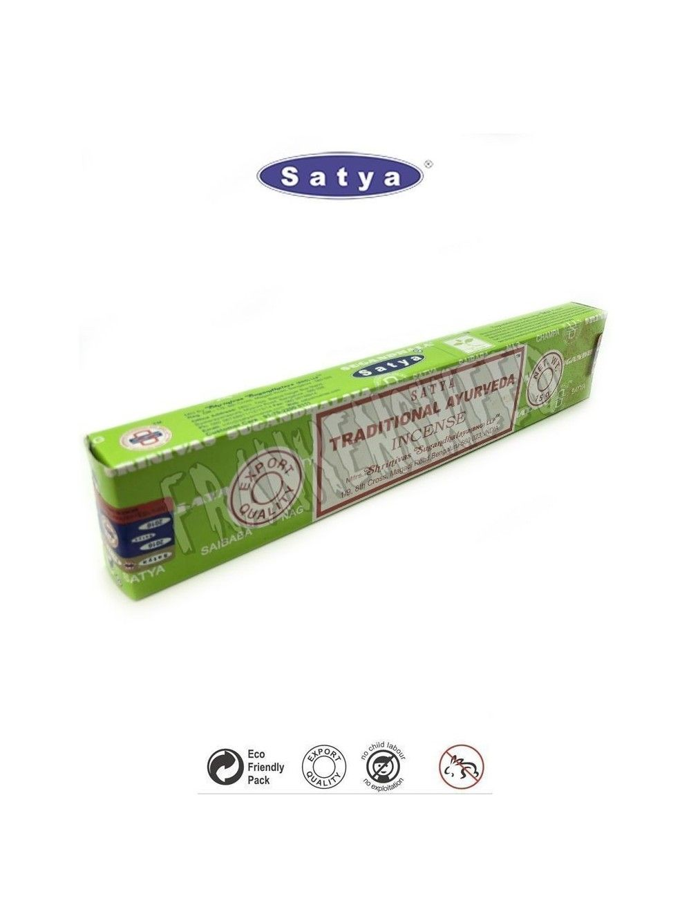 TRADITIONAL AYURVEDA Satya Sai Baba Incense Sticks