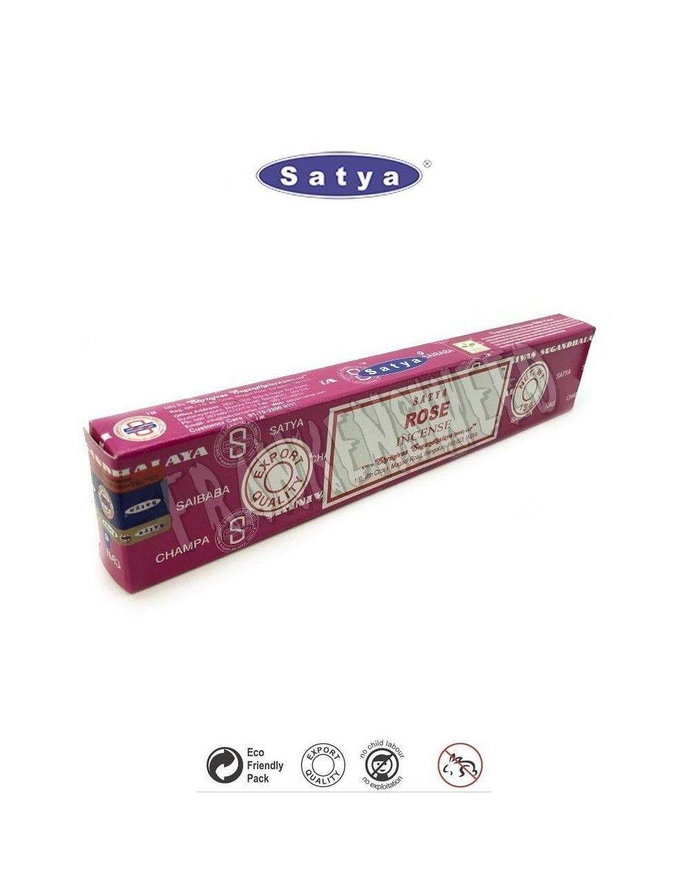 Rose Satya Sai Baba Incense Sticks