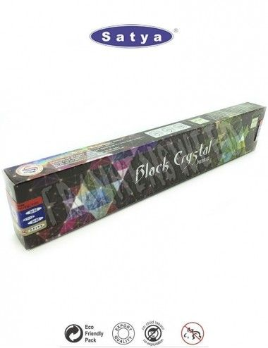 Black Crystal - Satya Sai Baba - Incense Sticks