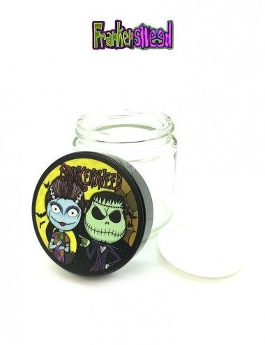 Glass Jar 4oz - Nightmare Weed