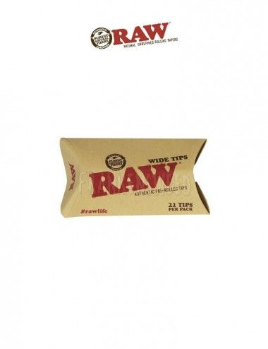 Comprar boquillas RAW Tips Prerolled Wide en Frankensweed Shop Online en España.
