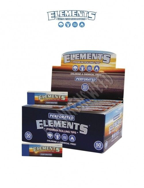Comprar caja de boquillas elements tips perforated en España en Frankensweed Shop Online.