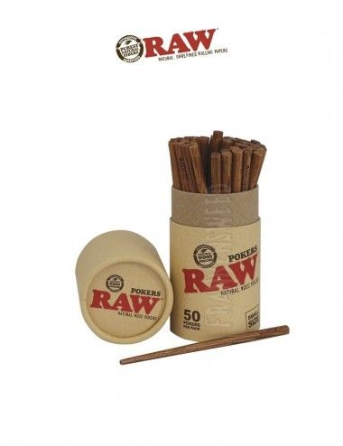 RAW WOOD POKER - Small