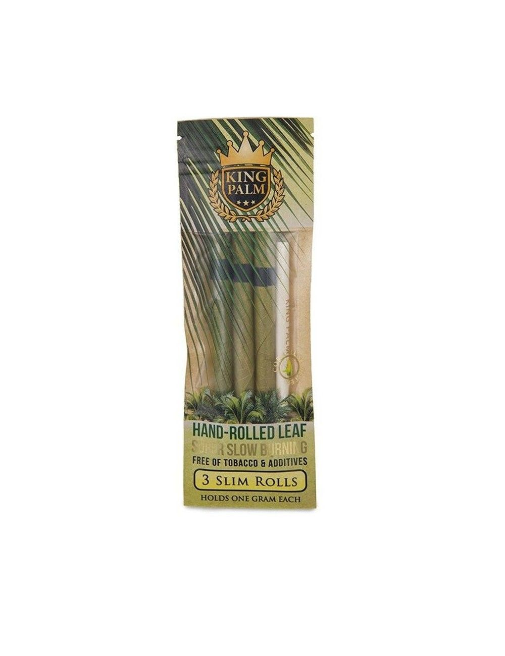King Palm Cones Leaf - 3 Slim Rolls